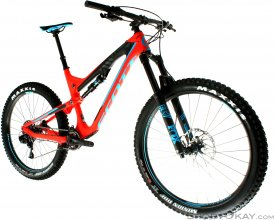 Scott Genius LT 710 Plus 2017 Endurobike-Rot-M