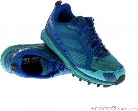 Scott Kinabalu Supertrac Damen Traillaufschuhe-Blau-9,5