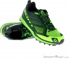Scott Kinabalu Supertrac Herren Traillaufschuhe-Grün-10