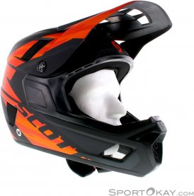 Scott Nero Plus MIPS Downhill Helm-Orange-M