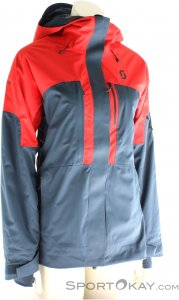 Scott Vertic 2l Insulated Damen Skijacke-Blau-S