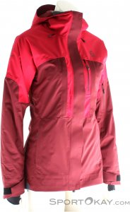 Scott Vertic 2l Insulated Damen Skijacke-Pink-Rosa-M