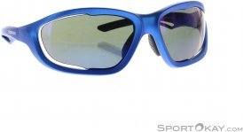 Shimano S60X-PL Bikebrille-Blau-One Size