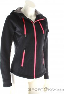 Spyder Ardent Full Zip Damen Outdoorsweater-Schwarz-40