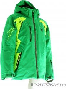 Spyder Boy's Vail Jacket Jungen Skijacke-Grün-10