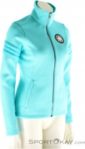 Spyder Divine Mid Weight Damen Sweater-Blau-40
