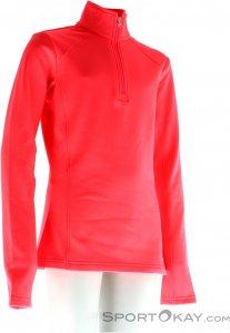 Spyder Savona Therma Stretch T-Neck Damen Funktionsshirt-Pink-Rosa-M