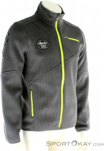 Spyder Wengen Full Zip Mid Weight Core Herren Skisweater-Grau-S
