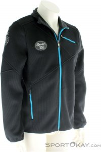 Spyder Wengen Full Zip Mid Weight Core Herren Skisweater-Schwarz-S