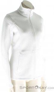 Spyder Women's Endure FZ Mid WT Stryke Damen Skisweater-Weiss-XS