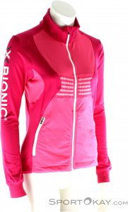 X-Bionic Ski Lady Raccoon Shirt Damen Skisweater-Pink-Rosa-XL