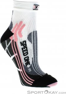 X-Socks Run Speed One Lady Damen Socken-Pink-Rosa-41-42