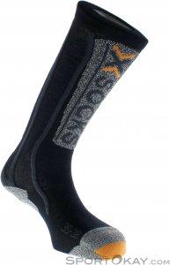 X-Socks Ski Silver Adrenaline Skisocken-Schwarz-35-38