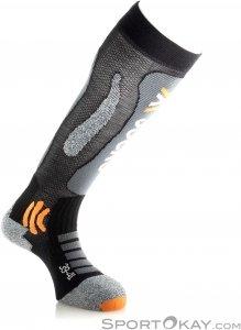 X-Socks Ski Touring Silver Skisocken-Schwarz-39-40