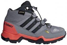 adidas Kinder Terrex Mid GTX K (Grau 6 Gr. ) | Schuhe Kinderschuhe Kinderwanderschuhe B (Leichte Wanderschuhe)
