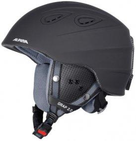Alpina Grap 2.0 (Schwarz 61-64 in cm )   Ausruestung Helme Skihelme