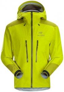 Arcteryx Alpha AR Jacket GTX Mens Herren (Gelb M INT )   Bekleidung Jacken Gore-Tex-Jacken