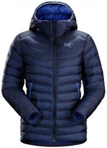 Arcteryx Cerium LT Hoody Womens Damen (Dunkelblau M INT )   Bekleidung Jacken Wintersportjacken