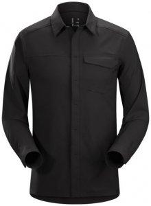 Arcteryx Skyline LS Shirt Men´s Herren (Schwarz | XL INT ) Bergsport Wandern