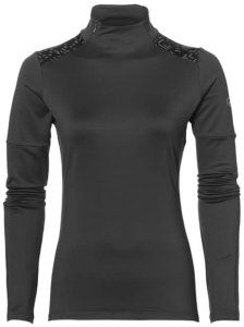 Asics Light Show Winter LS Damen (Anthrazit XS INT )   Bekleidung Shirts Longsleeves