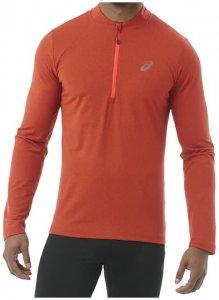Asics LS 1 2 Zip Jersey Herren (Rot S INT )   Bekleidung Shirts Funktionsshirts