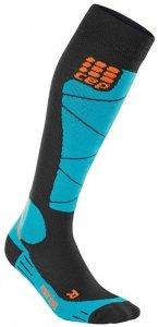 CEP Ski Merino Socks Herren (Schwarz V Gr. )   Bekleidung Accessoires Socken-Struempfe