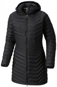 Columbia Powder Lite Mid Jacket Damen (Schwarz S INT ) | Bekleidung Jacken Isolationsjacken