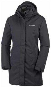 Columbia Salcantay Long Damen (Schwarz S INT )   Bekleidung Jacken Outdoorjacken
