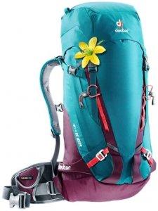 Deuter Guide 30+ SL Damen (Petrol ) | Ausruestung Rucksaecke Kletter-Alpinrucksaecke