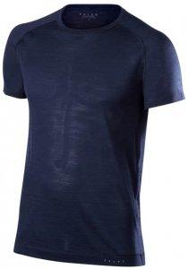 Falke Silk Wool Shortsleeved Shirt M Herren (Dunkelblau INT ) | Bekleidung Unterwaesche Funktionsunterhemden