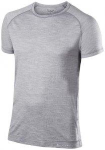 Falke Silk Wool Shortsleeved Shirt M Herren (Hellgrau INT ) | Bekleidung Unterwaesche Funktionsunterhemden