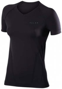 Falke Warm SS Shirt Comfort W Damen (Schwarz M INT )   Bekleidung Unterwaesche Funktionsunterhemden