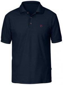 Fjällräven Crowley piqué shirt Herren (Dunkelblau M INT )   Bekleidung Shirts Poloshirts