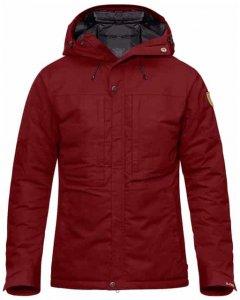 Fjällräven Skogsö Padded Jacket Herren (Rot L INT )   Bekleidung Jacken Outdoorjacken