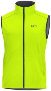 GORE WEAR R3 Gore Windstopper Vest Herren (Gelb L INT ) | Bekleidung Westen Windwesten