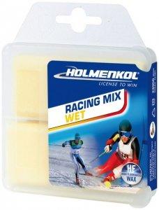Holmenkol Racing Mix Wet 2x35 g (Neutral ) | Ausruestung Skiausruestung Wachs-Zubehoer