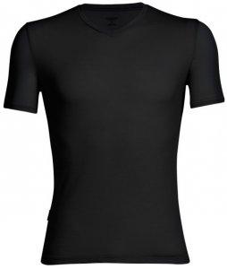 Icebreaker Mens Anatomica SS V Herren (Schwarz XXL INT ) | Bekleidung Shirts