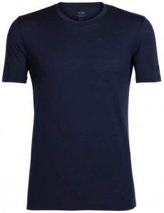 Icebreaker Mens Tech Lite SS Crewe Herren (Dunkelblau M INT ) | Bekleidung Shirts Merinoshirts
