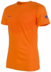 Mammut Moench Light T-Shirt Men Herren (Orange L INT ) | Bekleidung Shirts Funktionsshirts