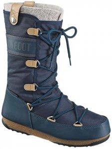 Moon Boot WE Monaco Felt Damen (Dunkelblau 37 EU )   Schuhe Winterstiefel