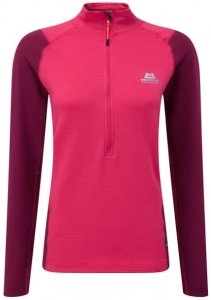 Mountain Equipment Eclipse Zip-T Women's Damen (Pink 36 38 INT ) | Bekleidung Shirts Funktionsshirts