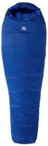 Mountain Equipment Starlight III Long (Blau LZ Long Reißverschluss ) | Ausruestung Schlafsaecke Mumienschlafsack