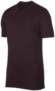 Nike M NK Breathe Top SS Hyper Dry Herren (Beere S INT )   Bekleidung Shirts Funktionsshirts