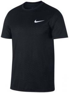 Nike M NK Dry Leg Tee Emboss Print Herren (Schwarz S INT )   Bekleidung Shirts Funktionsshirts