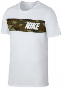Nike M NK Dry Tee DFC Block Como Herren (Weiß INT )