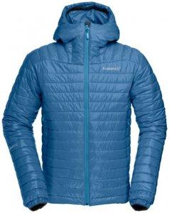 Norröna falketind PrimaLoft100 Hood Jacket (M) Herren (Blau M INT )   Bekleidung Jacken Primaloft-Jacken