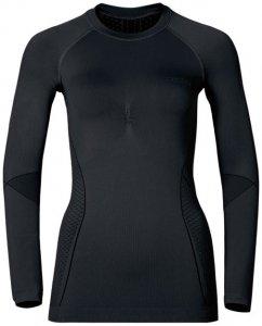 Odlo EVOLUTION WARM Shirt l s crew neck W Damen (Schwarz M INT ) | Bekleidung Unterwaesche Funktionsunterhemden