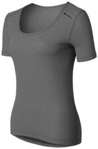 Odlo Shirt s s crew neck CUBIC W Damen (Anthrazit XS INT ) | Bekleidung Unterwaesche Funktionsunterhemden