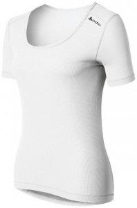 Odlo Shirt s s crew neck CUBIC W Damen (Weiß XL INT ) | Bekleidung Unterwaesche Funktionsunterhemden