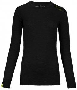 Ortovox 105 Ultra Long Sleeve Women Damen (Schwarz S INT )   Bekleidung Shirts Merinoshirts